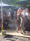 Street tango...