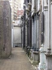 The cemetery at Recoleta