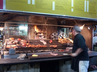A typical parilla (grill) - they are almost as ubiquitous as maté