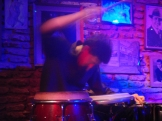 …with a crazy drummer!