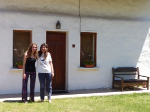 Silvia and Lucia - our lovely generous hosts in Piriapolis
