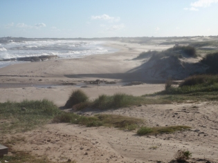 The northern Uruguayan coast