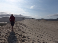 "Spectacular dunes near Florianopolis, on the Ihla de Santa Catarina or ""Floripa"""