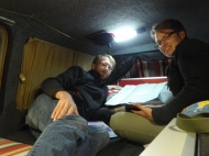 Planning our assault on Patagonia...