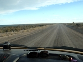 Did we mention the flat, dusty roads??