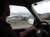 Arriving in Ushuaia - our destination at the very south of South America
