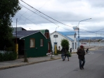 There was a pioneer feel to the architecture in the very south - this is Ushuaia