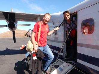 Arriving on Robinson Crusoe Island