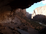 Complete with its own cave with evidence of occupation by original indigenous peoples (no climbing here)
