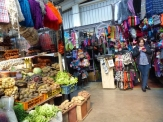 Inside the colourful market