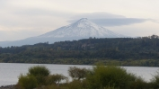 Finally, we get to see a volcano properly - we take the opportunity of a clear morning to get close to Volcan Villarica