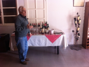 Carmelo is a one man band who has a passion for ageing his wines in the bottle