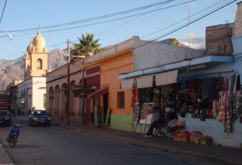 The charming town of Cafayate