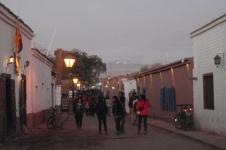 San Pedro at dusk