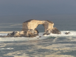 The sea arch at La Portada, just north of Antofagasta