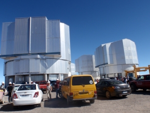 Visiting the Very Large Telescope at Cerro Paranal