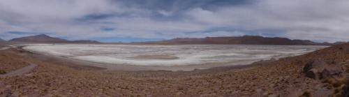Laguna Capina - more of a salt flat than a lake