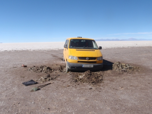 A little higher out of the mud… perhaps?