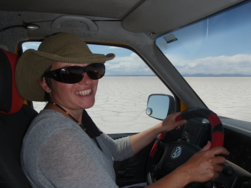 Pleased to have made it to the Salar