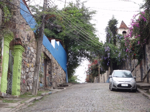 The lovely barrio of Santa Theresa