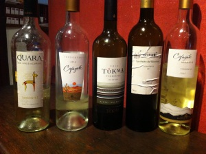A mixed selection of Reservas and Non-Reservas
