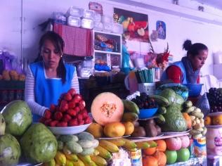 And the wonderful fresh fruit juice stalls