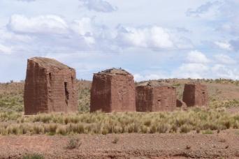 Pre-Incan burial tombs