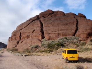 Potrerillos, another lovely roadside crag,...
