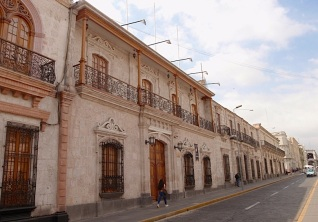 And some elegant colonial architecture in the surrounding streets