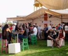 A visit to a specialist beer bar resulted in an invitation to a small local beer festival