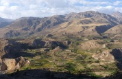 The beatiful Colca valley