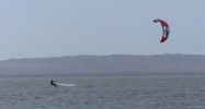...was a kite surfer's paradise