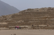 The largest pyramid at Caral is older than the Great Pyramid of Giza