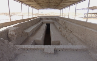 The tomb of the king of the Chimú