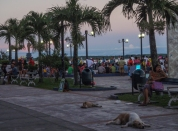 The Malecon, the waterfront, is the centre of evening activity