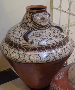 The Andes cultures don't have a monopoly on fine pottery