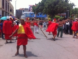 A trip into nearby Tumbes threw us into the middle of the Good Friday parade