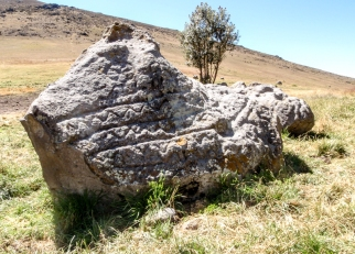 They believe this rock, of religious importance, may have been a calendar